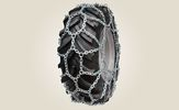 Pair of snow chains 6mm 380/55-17